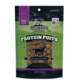 RedBarn RedBarn DOG Protein Puffs - Peanut Butter