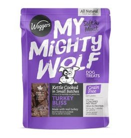 Waggers Waggers My Mighty Wolf Turkey 454g