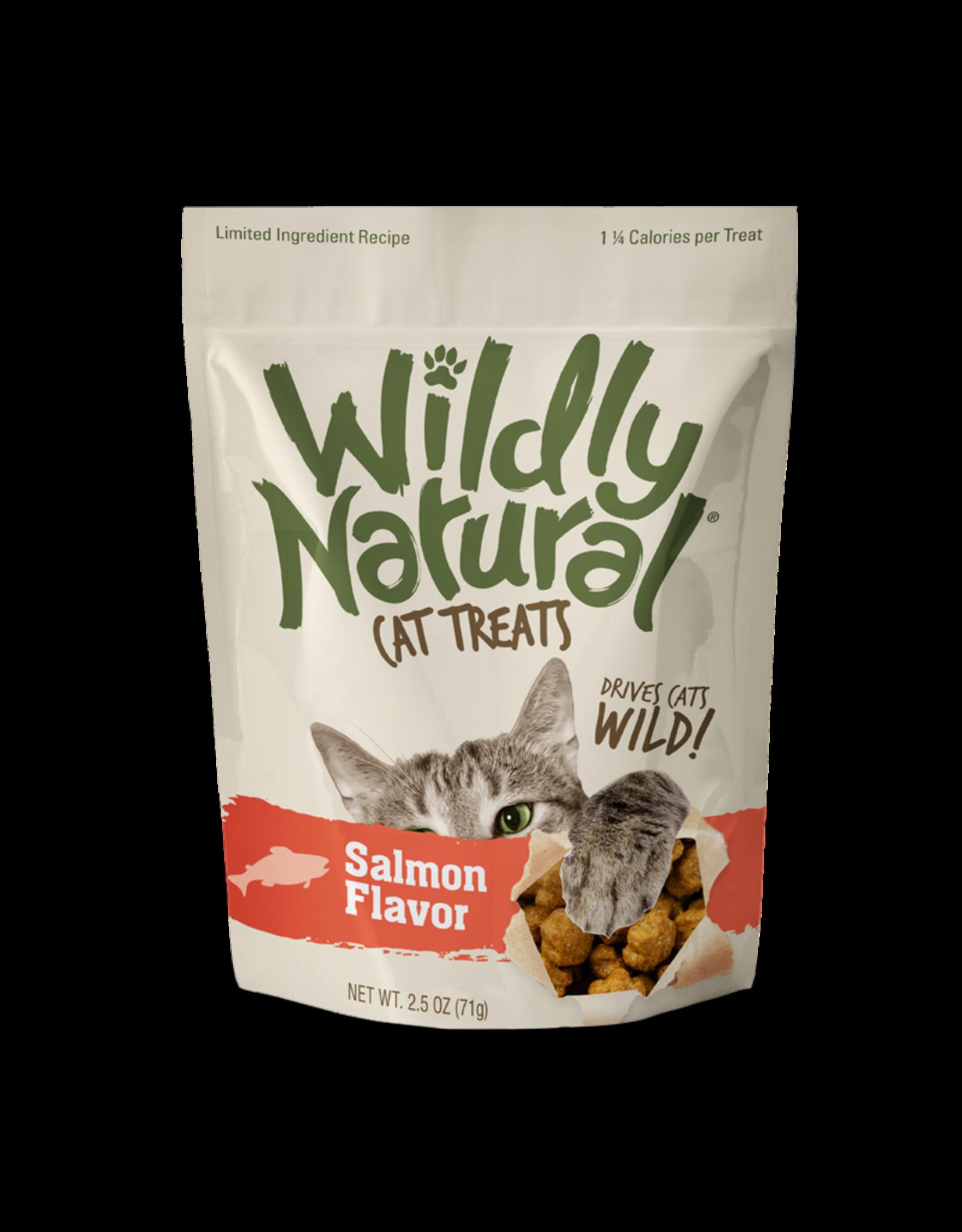 Fruitables Fruitables WildlyNatural Crunchy Cat Treats - Salmon 2.5oz