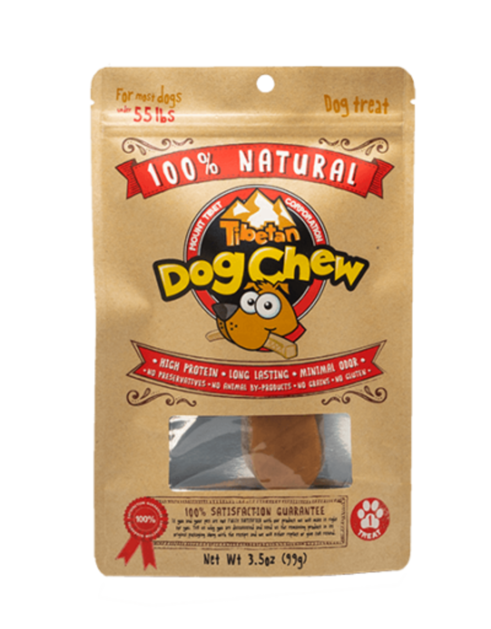 100% Natural 100% Natural Tibetan Dog Chew L
