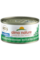 ALMO AlmoNature CAT Complete Chicken w. Green Beans in Gravy 70g