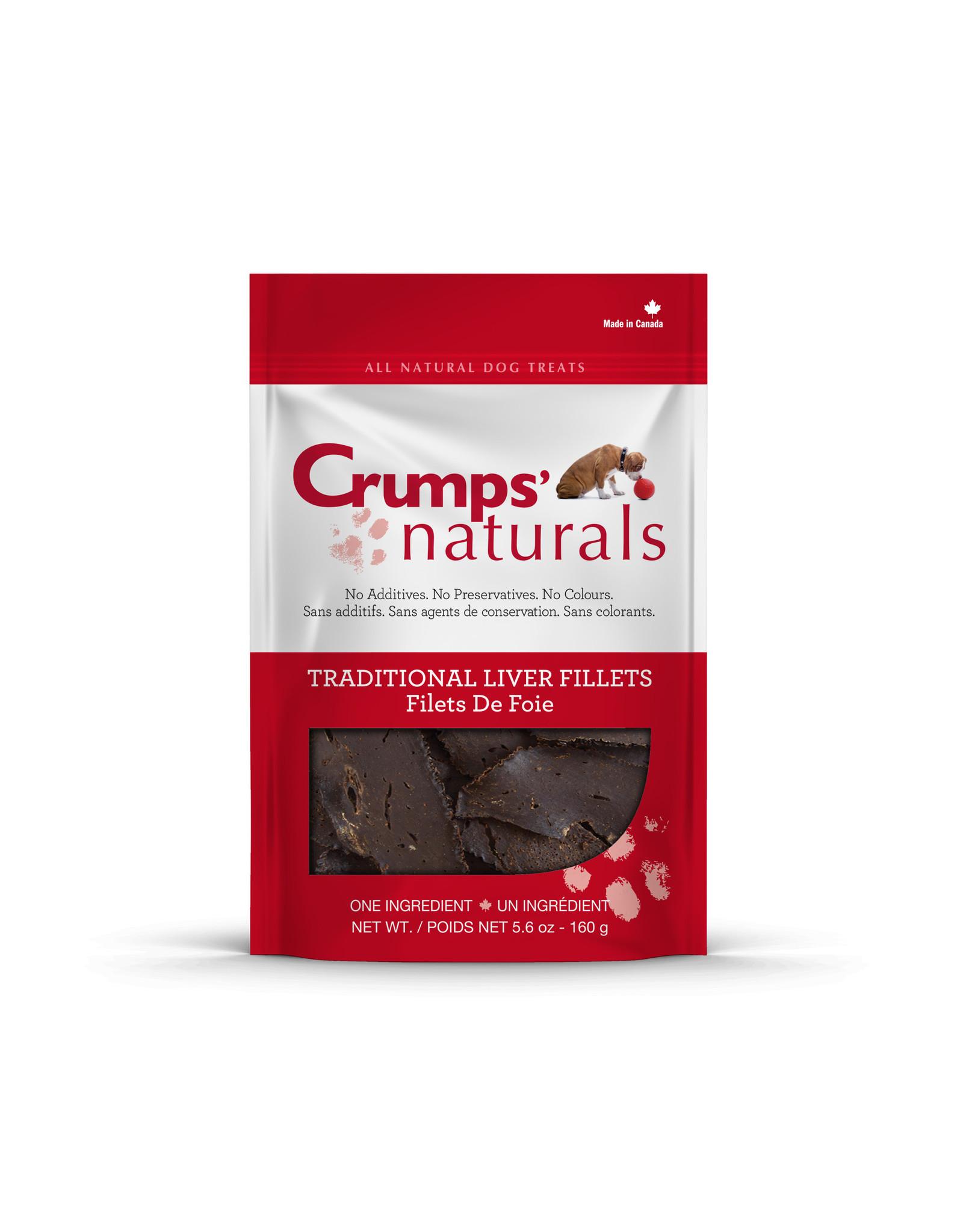 Crumps CRUMPS Baked Liver Fillet Treats 330g