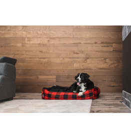 BeOneBreed BeOneBreed Cozy Bed- Large 46x35 - Buffalo Plaid