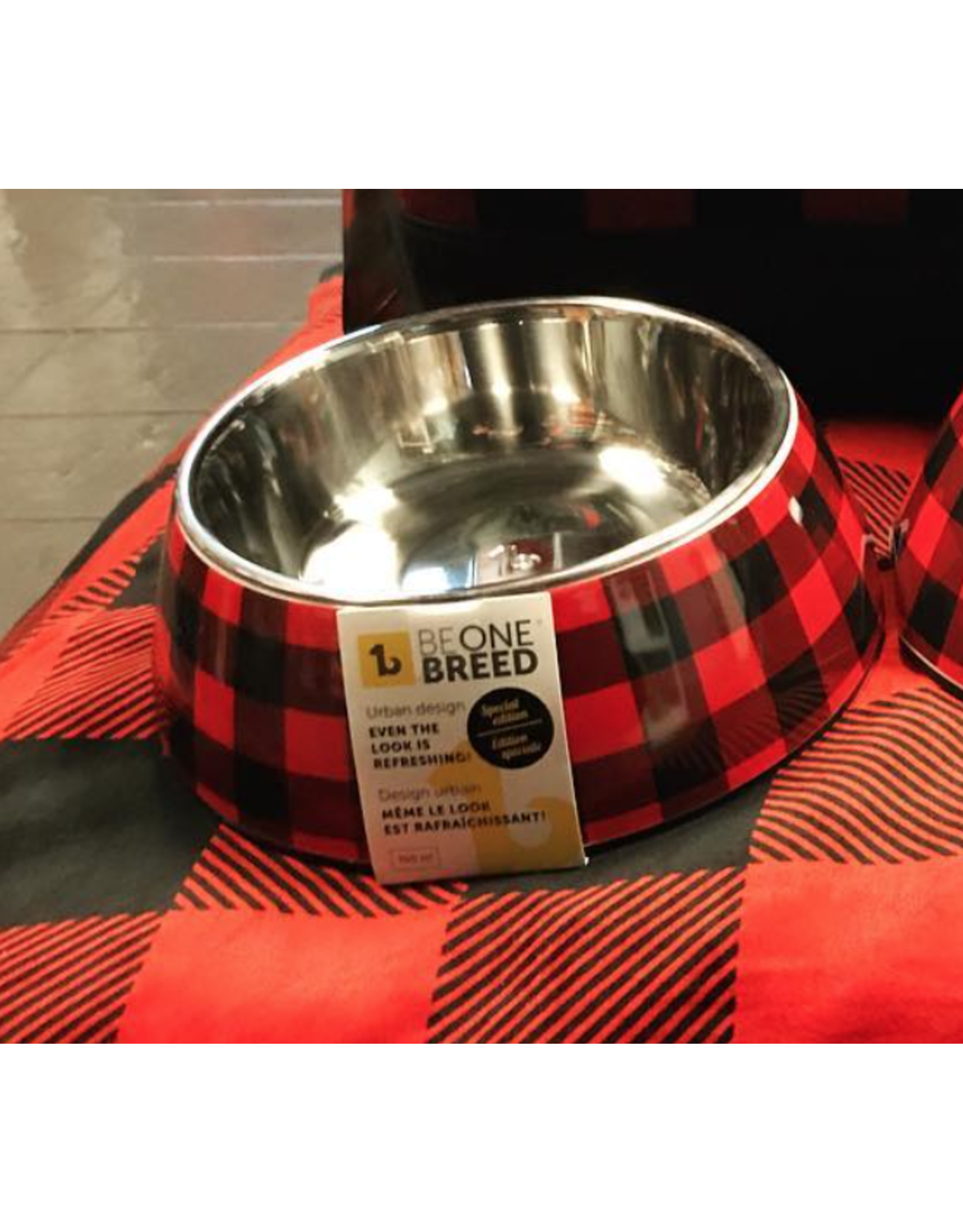 BeOneBreed BeOneBreed Deisgn Bowls - Large - Buffalo Plaid