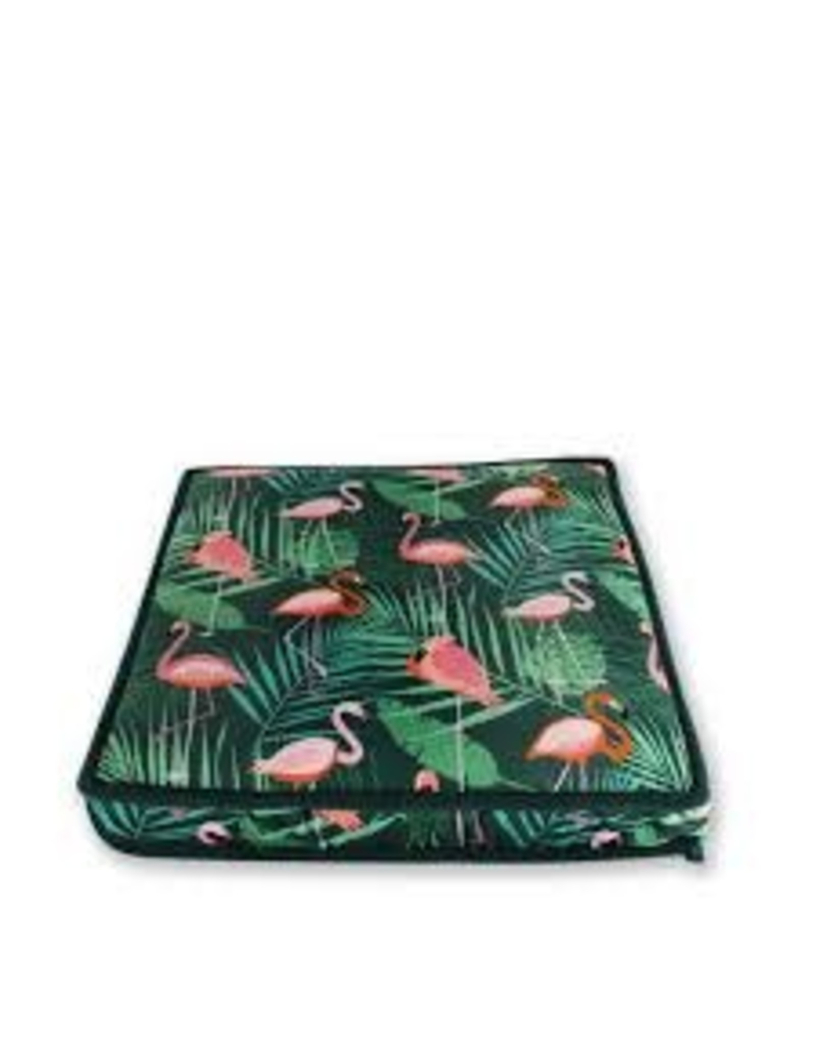 BeOneBreed BeOneBreed Katt3 Memory Foam Flamingos 14x14