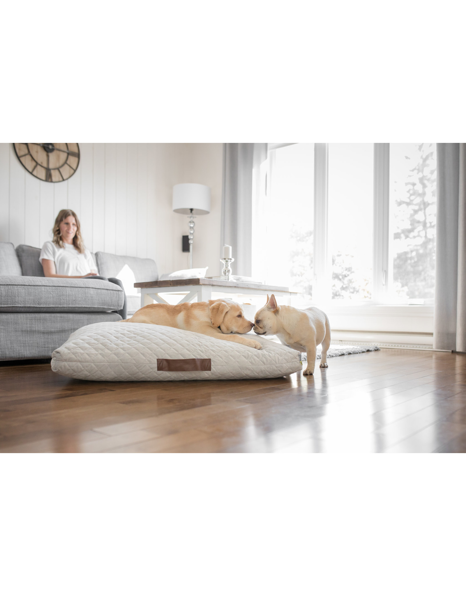Be One Breed BeOneBreed Quilted Bed - Grey - S/M 32x24