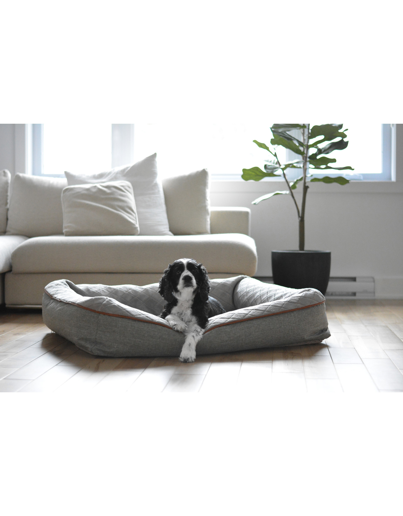 Be One Breed BeOneBreed Snuggle Bed M/L 32x40 - LIGHT Grey
