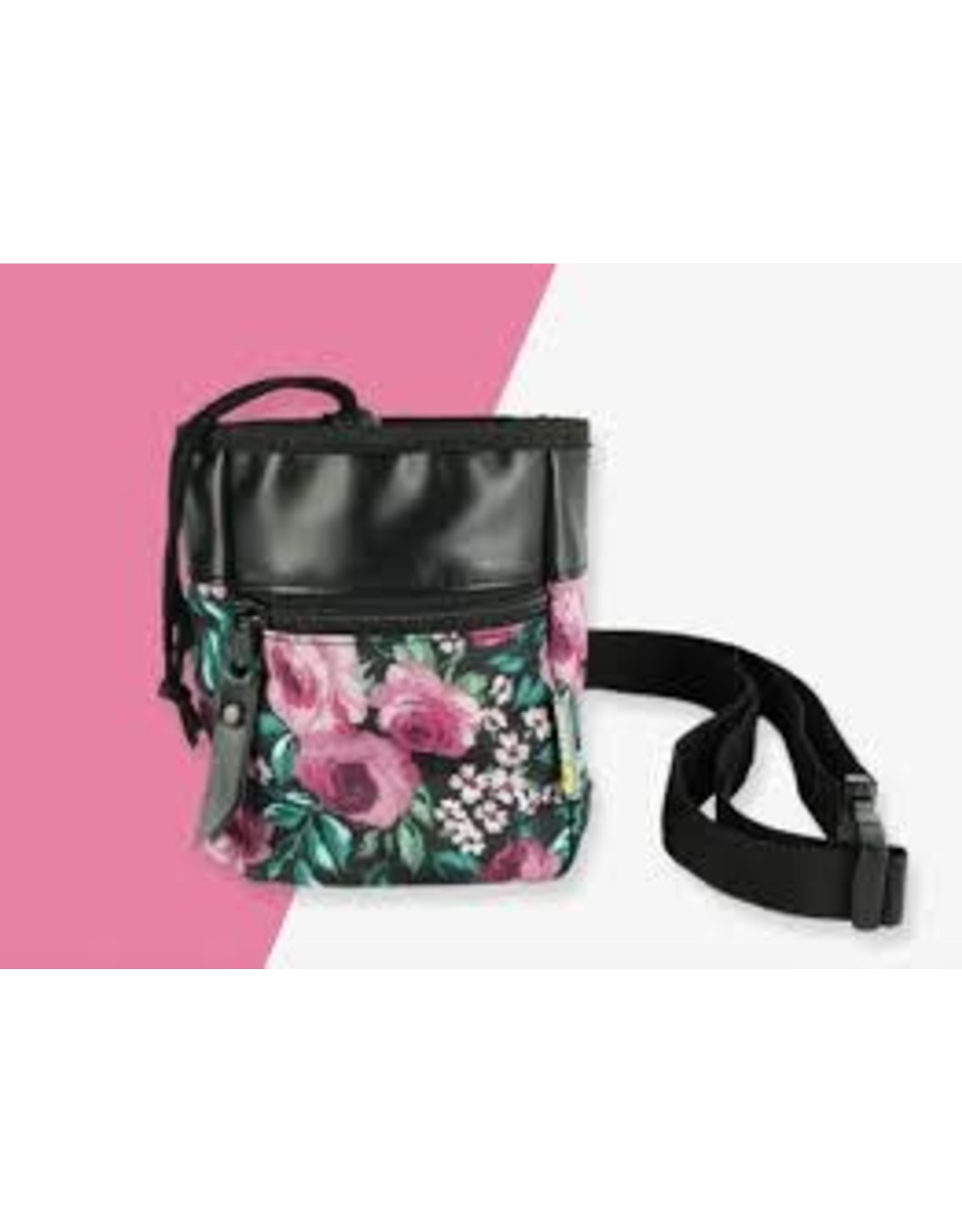 BeOneBreed BeOneBreed Treat Pouch - Dark Floral