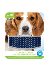FouFouBrands FFD - FouFit - Cooling Collar - Blue Medium 17""