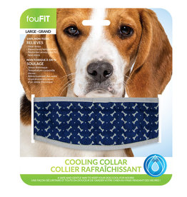 FouFouBrands FFD - FouFit - Cooling Collar - Blue Small 14""