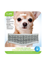 """FouFouBrands FFD - FouFit - Cooling Collar - Grey Small 14"""""""
