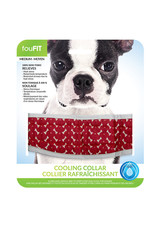 FouFouBrands FFD - FouFit - Cooling Collar - Red Medium 17""
