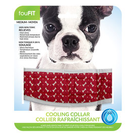 FouFouBrands FFD - FouFit - Cooling Collar - Red Small 14""