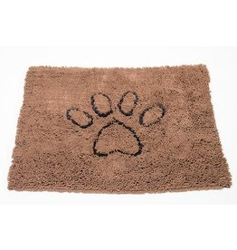 DogGoneSmart DGS Dirty Dog Doormat Medium 31x20 Brown