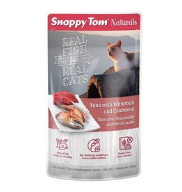 SNAPPY TOM SNAPPY TOM Tuna With Whitebait (red)