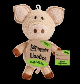 SpunkyPup SpunkyPup - WooliesPlush Pig