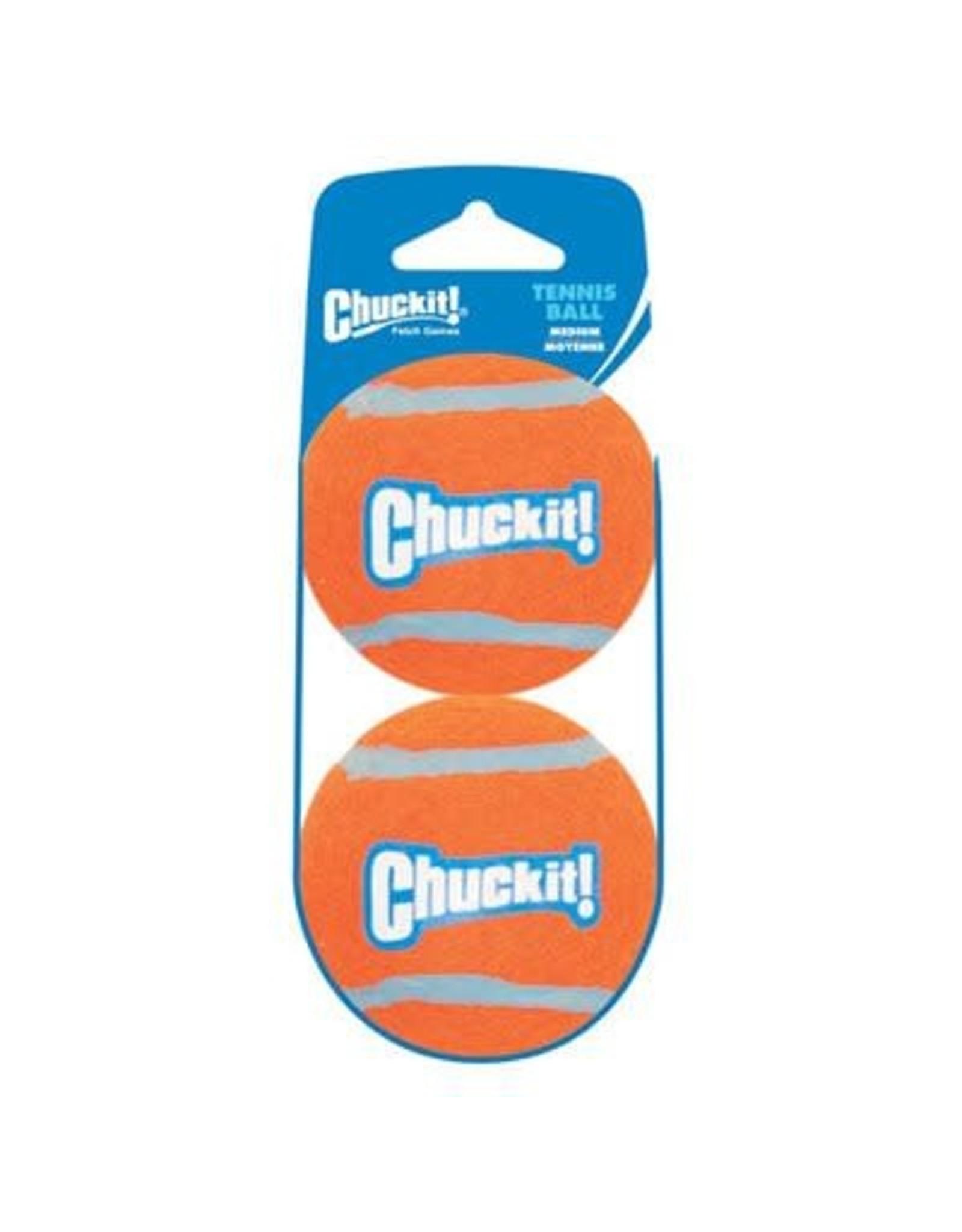 Chuck-It Chuck-It Tennis Ball Medium 2pk