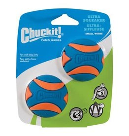 Chuck-It Chuck-It Ultra SQUEAKER Balls Small 2pk