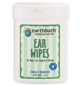 Earthbath EARTHBATH Ear Wipes 25ct.