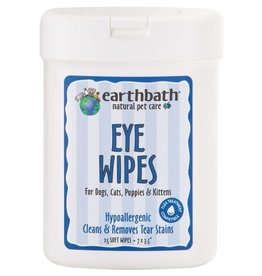 Earthbath EARTHBATH Eye Wipes Tear Stain Remover 25ct.