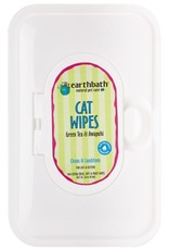 Earthbath EARTHBATH Grooming Wipes for CATS Green Tea