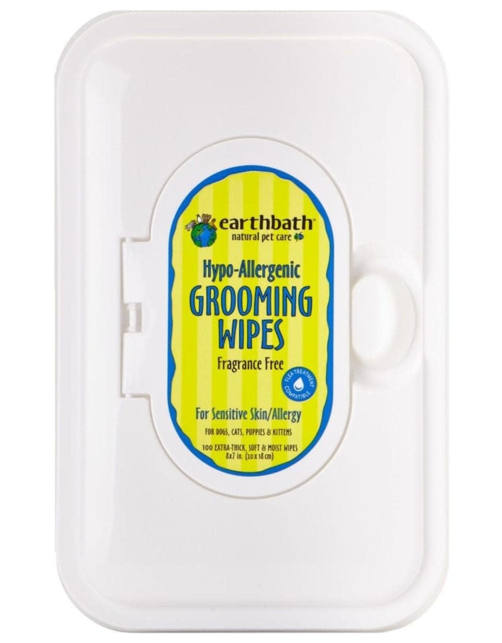 Earthbath EARTHBATH Grooming Wipes HypoAllergenic