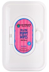 Earthbath EARTHBATH Grooming Wipes Puppy - Cherry Scent