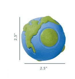 PlanetDog PD Orbee Tuff Ball Blue/Green Small