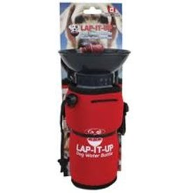 LAP IT UP LAP IT UP DOG Water Bottle - Red