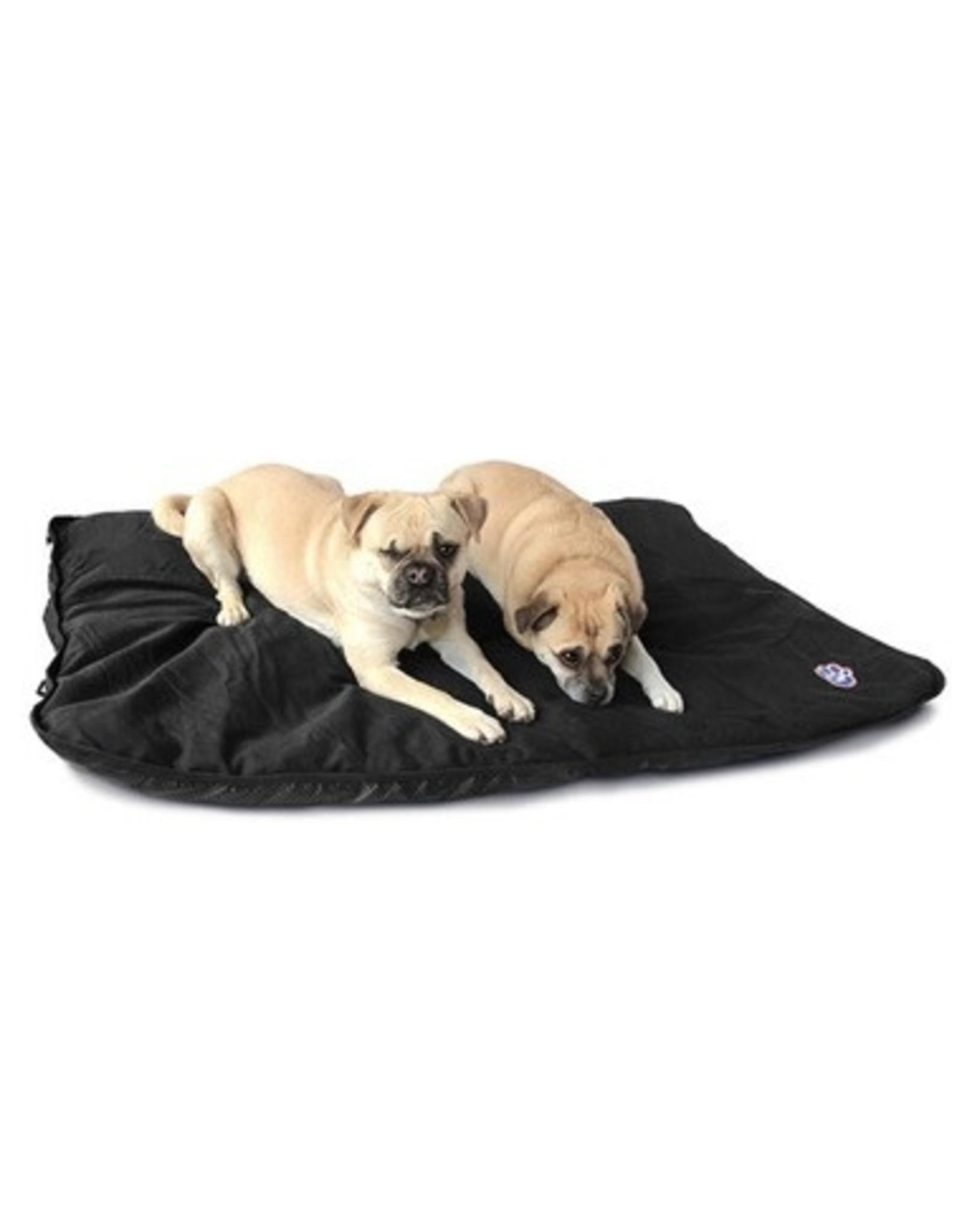 Canada Pooch Canada Pooch Rugged Rest Travel Bed Black LRG