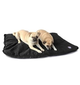 Canada Pooch Canada Pooch Rugged Rest Travel Bed Black LRG