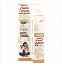 PETRODEX Petrodex Natural Toothpaste for Dogs 2.5oz - Peanut Butter
