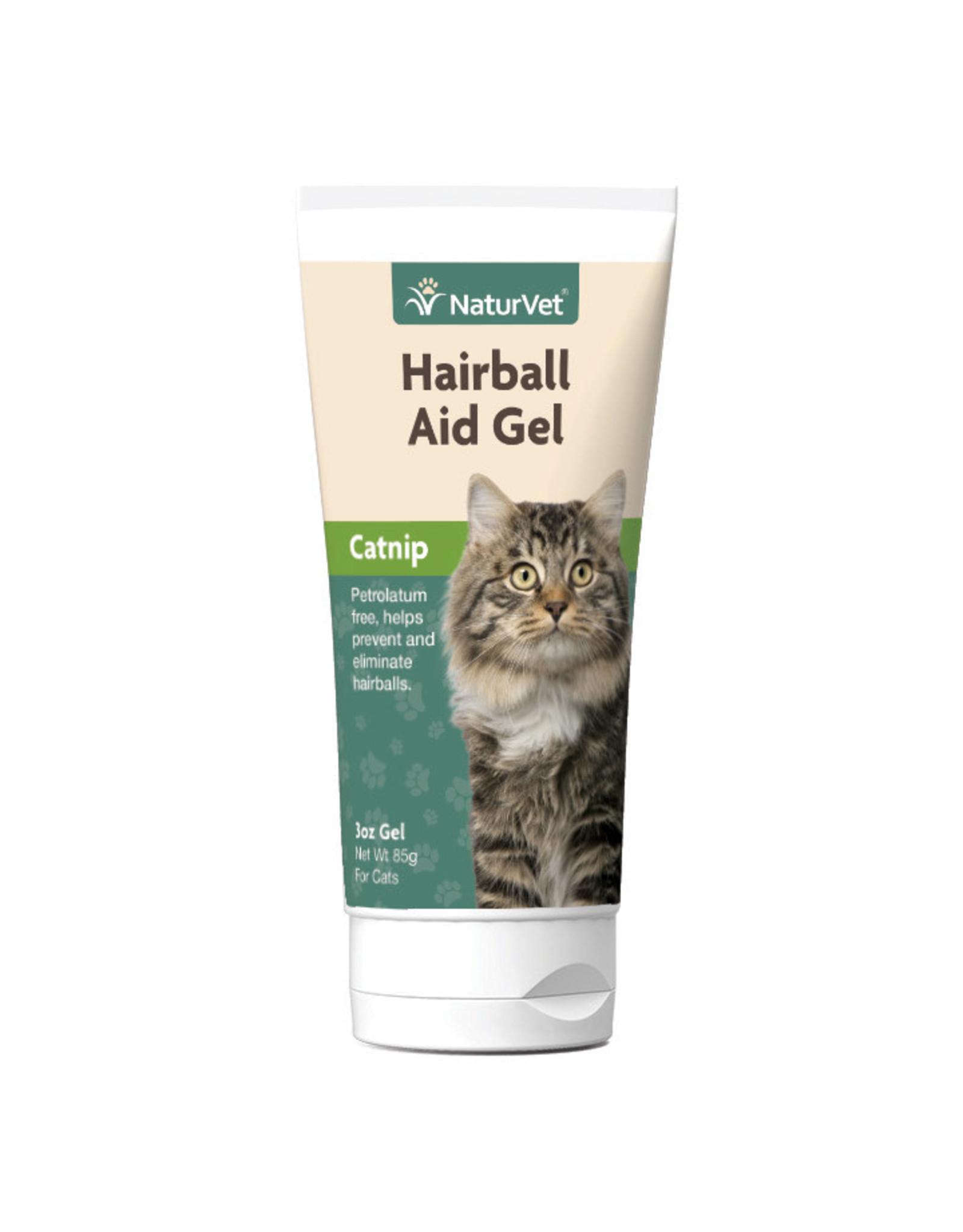 NaturVet NaturVet CAT Hairball Remedy w/Catnip Gel 3oz