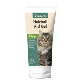 NaturVet NaturVet CAT Hairball Remedy w/Catnip Gel 3oz