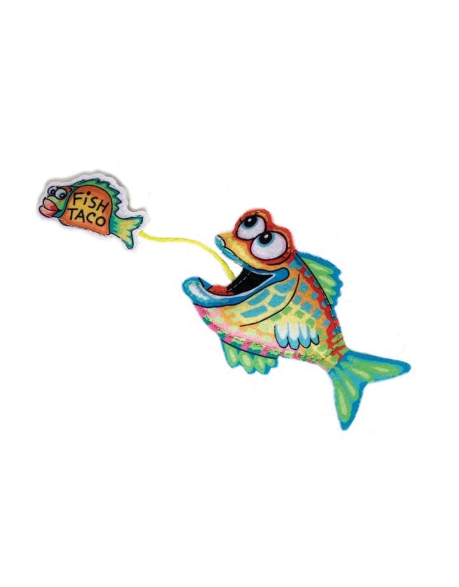 FUZZU FUZZU - Cat Toy - Fast Food Fish