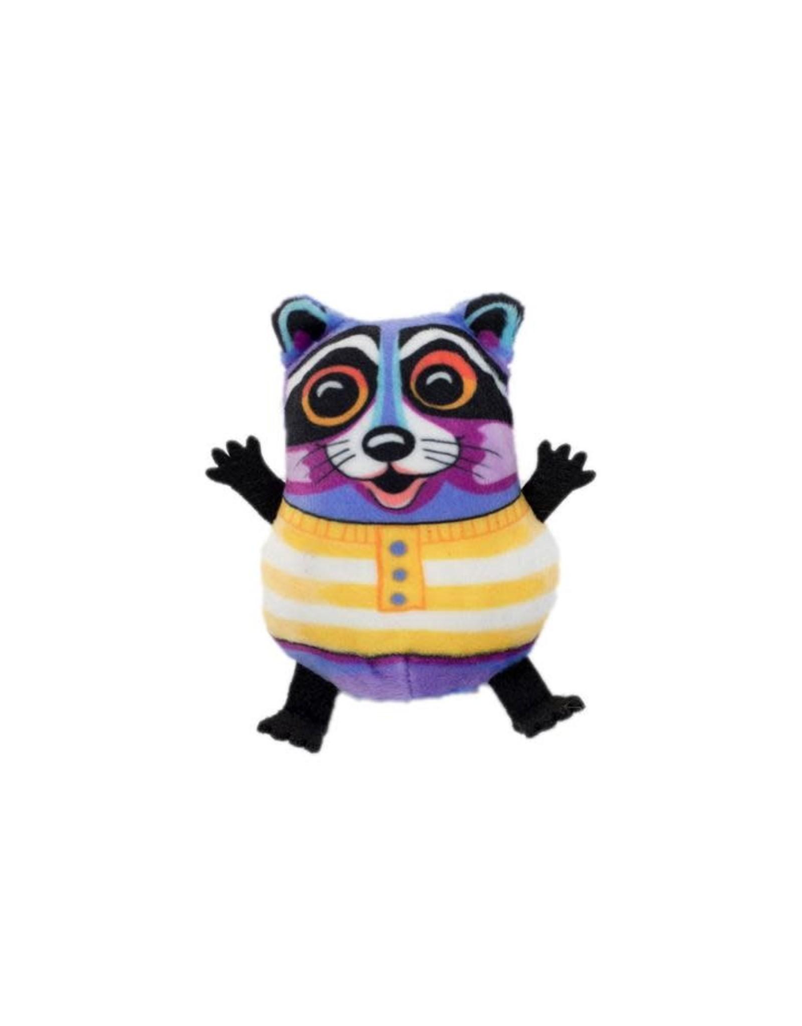 FUZZU FUZZU - Cat Toy - Tea Cup Fluffs Racoon