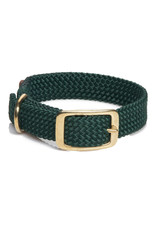 "Mendota Mendota Double-Braid Collar HUNTER GREEN 1""x18"""