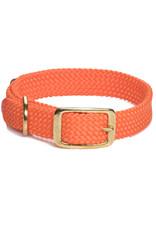 """Mendota Mendota Double-Braid Collar ORANGE 1""""x24"""""""