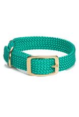 "Mendota Mendota Double-Braid Collar KELLY GREEN 1""x21"""