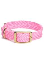 "Mendota Mendota Double-Braid Collar PINK 1""x21"""