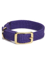 "Mendota Mendota Double-Braid Collar PURPLE 1""x21"""