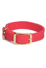 """Mendota Mendota Double-Braid Collar RED 1""""x21"""""""