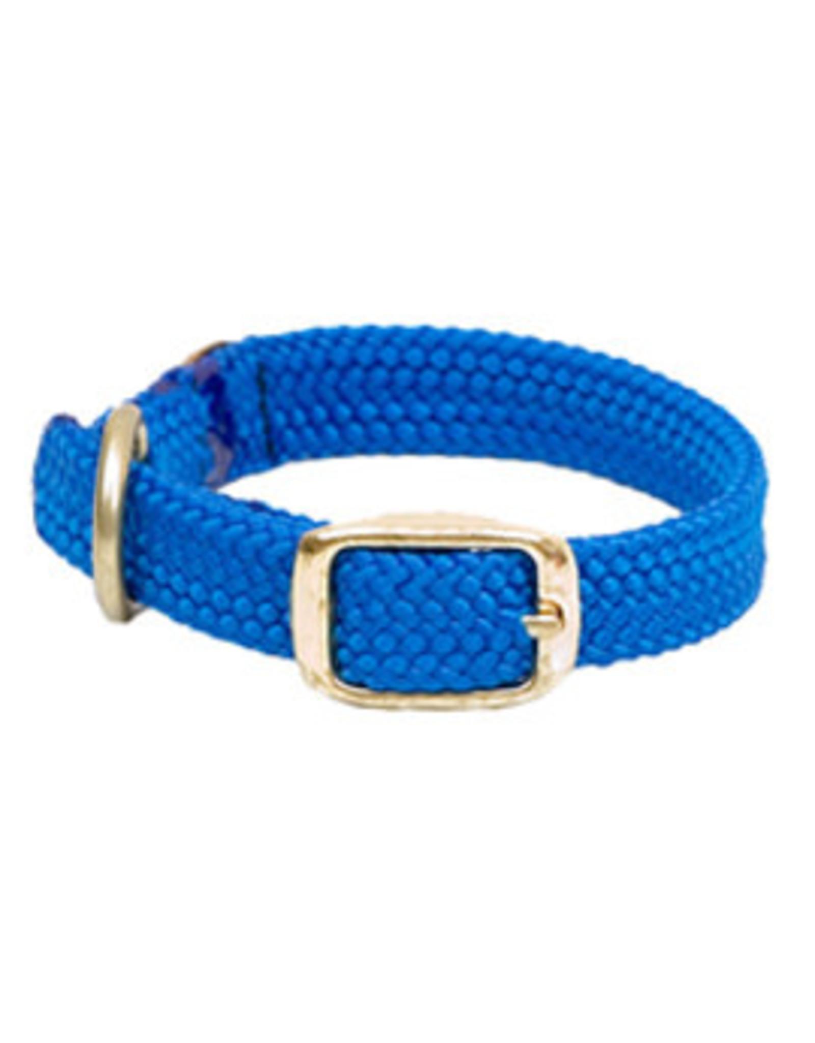"Mendota Mendota Double-Braid Jr. Collar BLUE 9/16"" x14"""