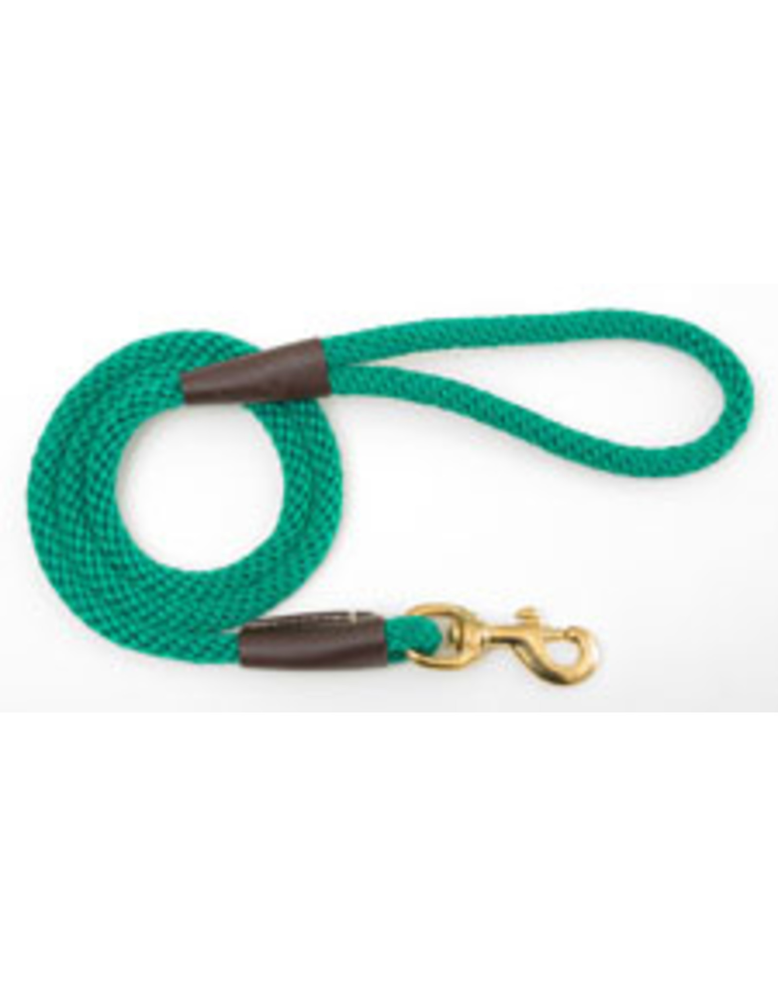 "Mendota Mendota Large Snap Leash KELLY GREEN 1/2"" x6'"