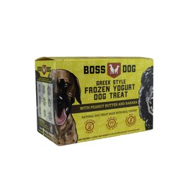 Boss Dog Boss Dog - 4 PACK - Frozen Yogurt - PB & Banana 3.5oz