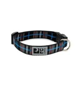 RC PETS RC Pets - Clip Collar M - Black Twill Plaid
