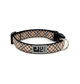 RC PETS RC Pets - Clip Collar XS - Tan Tartan