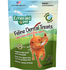 SMART N' TASTY EmeraldPet Catnip Dental Treats 85g