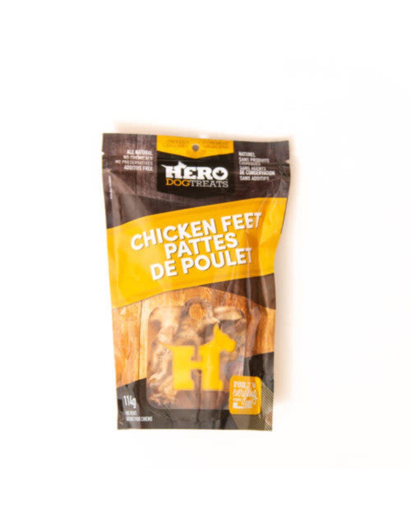 HERO HERO Dehydrated Chicken Feet 114g