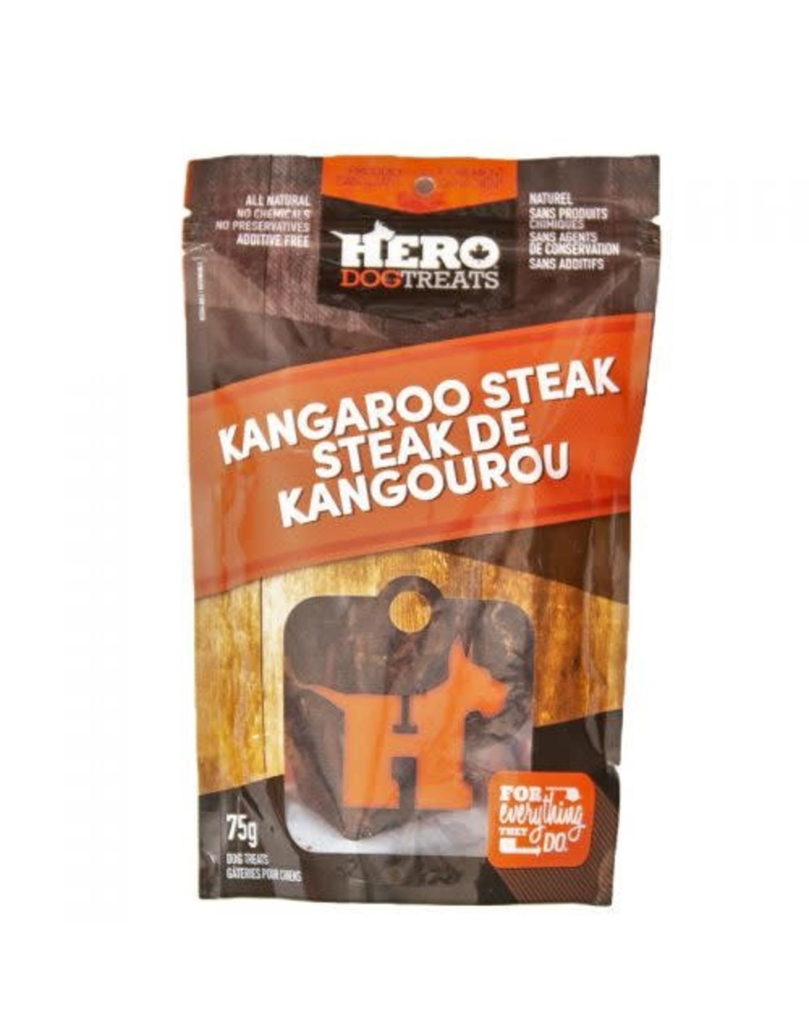 HERO HERO Dehydrated Kangaroo Steak 75g